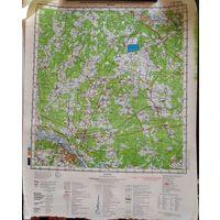 МОЗЫРЬ. Карта 40х53 см.