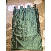 Красивая штора зелено-болотного цвета из качественного материала. длина 146 см, ширина 240 см. Красивый плотный материал, благородный блеск. Обмен не интересует. Пересылка по предоплате лота. Посмотре