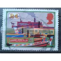 Англия 1993 200 лет с постройки каналов