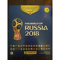 """Пустой альбом по коллекции """"Panini. World Cup 2018""""."""