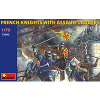 Французские рыцари с штурмовыми лестницами XV в. Mini Art 1/72