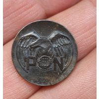 Значок польша 1933 с рубля