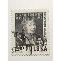 Польша 1964. 80 лет со дня рождения Элеоноры Рузвельт. Полная серия