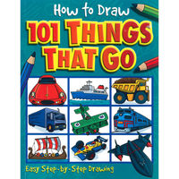 How to draw 101 things to go (5+)
