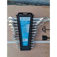 Набор комбинированных ключей 12 штук 6-22 мм