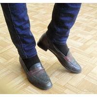 Туфли (Италия) Натуральная кожа. 40 размер (26 см)