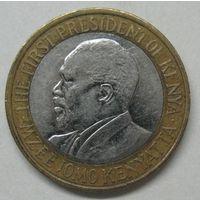 Кения 10 шиллингов 2010 год