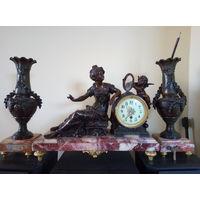 Часы каминные, Франция