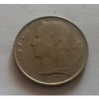 1 франк, Бельгия 1970 г.