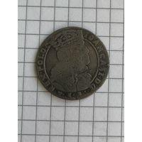 6 грошей Яна Казимира 1665г