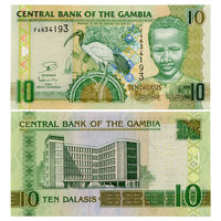 Гамбия. 10 даласи 2013 г. [P.26.c] UNC