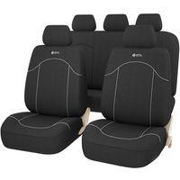 Комплект чехлов на сиденья черный универсальный GTL FAST