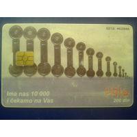 Сербия 200 динаров