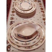 Набор из 12 предметов столовой посуды из коллекции Old English