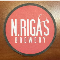 Подставка под пиво N.Rigas Brewery /Россия/
