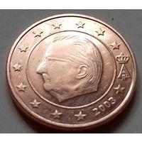 1 евроцент, Бельгия 2003 г.