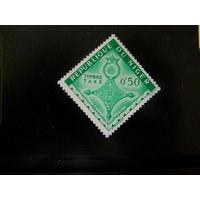 НИГЕР 1962 Доплатная марка Крест 1962 г. Агадес, крест Иферуане & крест Тахуа **