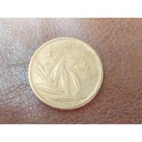 20 франков 1980 Бельгия ( Надпись на голландском - 'BELGIE' )