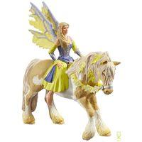 Фигурки Schleich(Германия)  Принцесса Сера на желтой лошади ,Эльфы