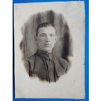 Фото лейтенанта. 1940 г. 9х12 см