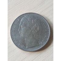 Италия 100 лир 1957г.
