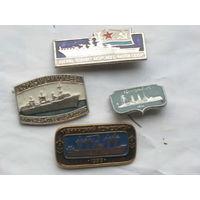 Значки корабли