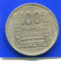 Алжир 100 франков 1950