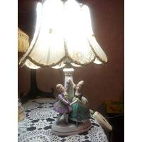 Настольная лампа светильник винтаж Германия номер в тесте