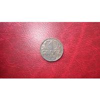1 грош 1925 год Польша