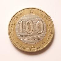 100 тенге 2006 год.
