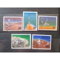 Верхняя Вольта 1976 Полет Викинга на Марс Полная серия