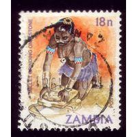 1 марка 1981 год Замбия 255