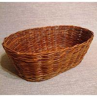 Корзина овальная плетеная/распродажа