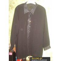 Блузка чёрная р.58-60