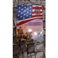 Альбом для долларовых монет США (капсульного типа).Сакагавея и другие выпуски.