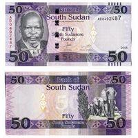 Южный Судан. 50 фунтов 2017 [UNC]