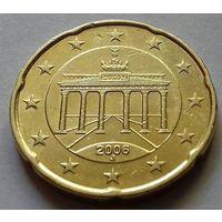 20 евроцентов, Германия 2006 J