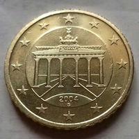 50 евроцентов, Германия 2004 G, AU