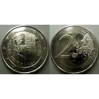 Финляндия, 2 евро 2016 Георг Хенрик фон Вригт