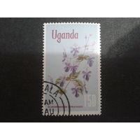 Уганда 1969 цветы