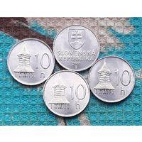 Словакия 10 геллер, UNC