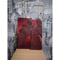 Картина по дереву Падший ангел