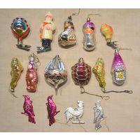 Ёлочные игрушки СССР есть редкие и на прищепке с рубля За Вашу цену!!!