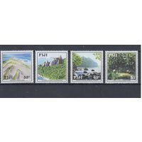 [408] Фиджи 1991.Природа.Ландшафты.