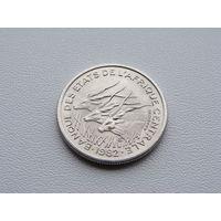 """Центрально - Африканские Штаты. 50 франков 1982 год КМ#11 (А) = """"Чад"""""""