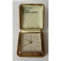 Дорожные часы SEIKO  JAPAN (ретро)