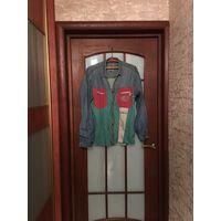 Интересная джинсовая рубашка Tom Tailor, M