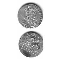 3 гроша 1591 Рига