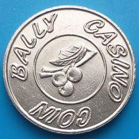 Токен - BALLY-CASINO- жетон для игровых автоматов