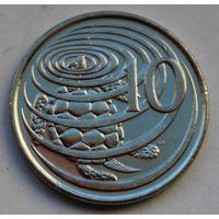 Каймановы острова, 10 центов 2005 г.